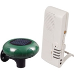 Safety Technology Wireless Alert Series  STI-V34100 Wireless Driveway Monitor (solar powered) w/Voice Receiver