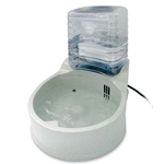 K&H Pet Products KH25 Clean Flow Bowl with Reservoir