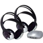 Unisar TV Listener J3 Infrared Stereo System with additional  Headset