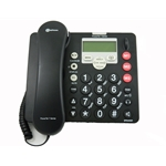Amplicom PowerTel 7 Series Amplified Corded Telephone w/ Integrated Answering Machine