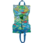 Full Throttle Character Vest Infant/Child to 50lbs - Fish, Type II