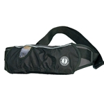 Mustang Inflatable Belt Pack PFD- Black/Carbon, Type III