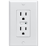 Linear Z-Wave Single Wall Outlet