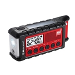 Emergency Dynamo Crank Radio w Battery