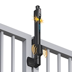 MagnaLatch ALERT Pool Safety Gate Latch w/ Alarm - Top Pull