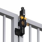 MagnaLatch ALERT Pet Safety Gate Latch w/ Alarm - Vertical Pull