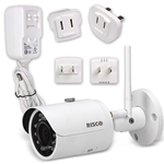 Risco Wireless P2P IP Indoor/Outdoor WiFi Day/Night Camera - Bullet