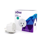 Dome Z-Wave Smart On/Off Outlet with Range Boost