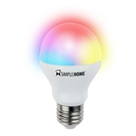 Simple Home Multicolor Smart Wi-Fi LED Bulb