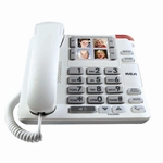 RCA Amplified Big Button Corded Speakerphone with Photo Memory Buttons
