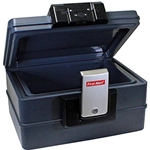 Waterproof Fire Chest with Digital Lock (0.39 Cubic Ft)
