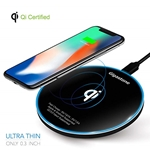Gigastone Qi®-Certified Fast Wireless Charger