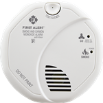 First Alert Combination Smoke & Carbon Monoxide Alarm with Voice & Location