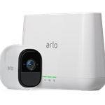 Arlo Pro Wire-Free HD Camera, Indoor/Outdoor, Night Vision Security System