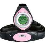 Pyle Pro PHRM38PN Heart Rate Monitor Watch with Minimum, Average & Maximum Heart Rate