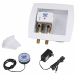 Floodmaster Washing Machine Leak Detection & Automatic Water Shut-Off System with Integrated Outlet Box