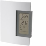 TH1402801 Thermostat: HW BB or Furnace-Fcd Air; Programmable
