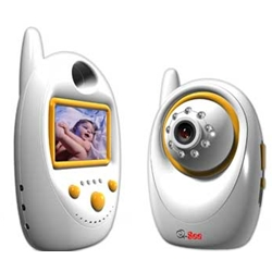 "Q-See 2.4"" TFT Digital Wireless Portable Baby Monitor"