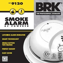 BRK Electronics SC9120B Hard Wired T3 Smoke/ Carbon Monoxide Alarm with Backup Battery