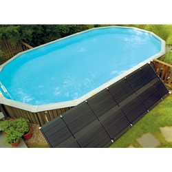 SmartPool SunHeater 2 - 2' X 20' (80sq. ft.) Solar Heating System for Above-Ground Pools (S421P)