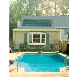 SmartPool SunHeater 2 - 2' X 20' (80sq. ft.) Solar Heating System for Inground (S601P)